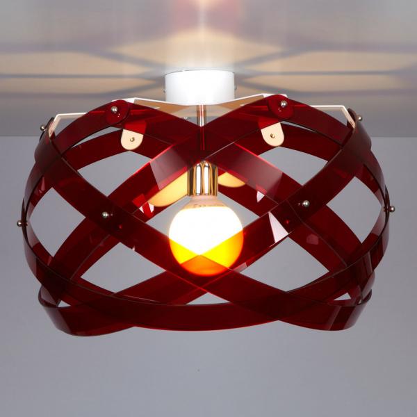 Lámpara de techo Nuclea up B Rosso Emporium Roberto Giacomucci