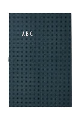 Φωτεινό σχιστόλιθο A3 - L 30 x H 42 cm Σκούρο πράσινο γράμματα σχεδίασης