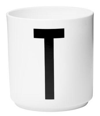 Κούπα Arne Jacobsen Επιστολή T Λευκό Σχεδιασμός Επιστολές Arne Jacobsen