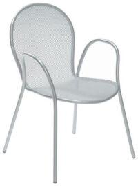 アルミの椅子ロンダエミューアルドCiabatti 1