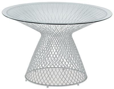 στρογγυλό τραπέζι Ουρανό Ø 120 cm αλουμινίου Emu Jean-Marie Massaud 1