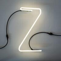 Alphafont mi lanp - Lèt Z White Seletti BBMDS
