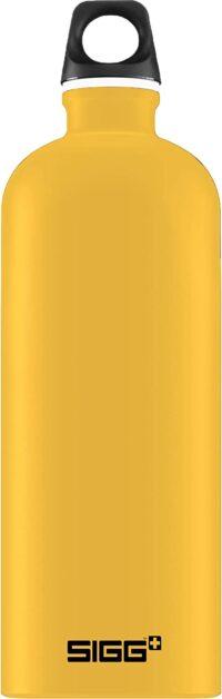 Reisender 1 L gelbe Flasche Sigg 1