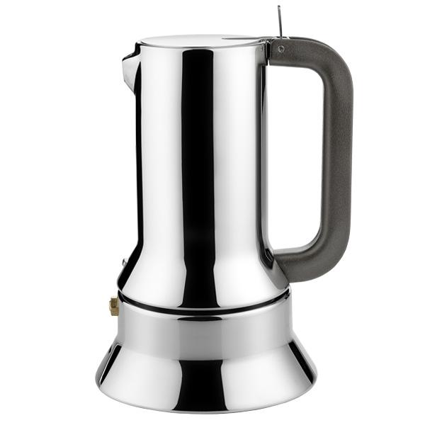 Kaffeemaschine 9090 / 3 polierter Edel Alessi Richard Sapper 1