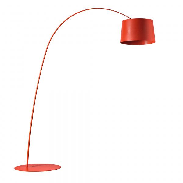 Λυχνία δαπέδου LED Twiggy Crimson Foscarini Marc Sadler 1