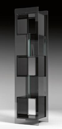 Magique Black Totem Bibliothèque | Studio FIAM Studio Klass Transparent