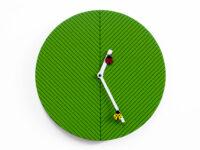 Orologio da parete Time2bugs Verde Progetti Alessia Gasperi 1