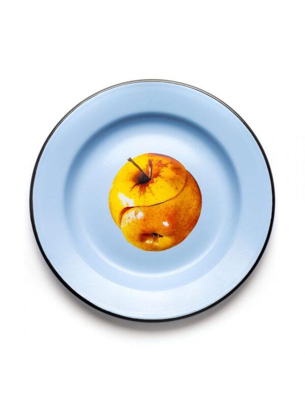 Toilettenpappteller - Mehrfarbiger Apfel Seletti Maurizio Cattelan | Pierpaolo Ferrari