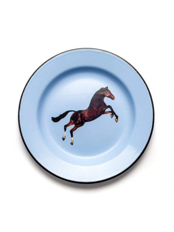 Twalèt plat - Seletti cheval multicolore Maurizio Cattelan | Pierpaolo Ferrari