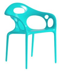 cadeira Supernatural Moroso Ross Lovegrove turquesa 1