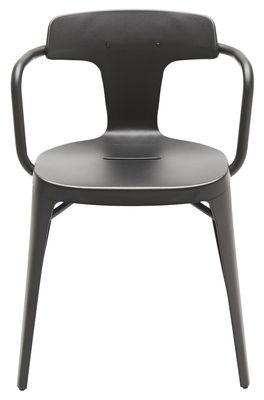 Sessel T14 / Inox - Für den Außenbereich Black Tolix Patrick Norguet 1