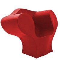 The Big Easy Red Armchair Moroso Ron Arad 1