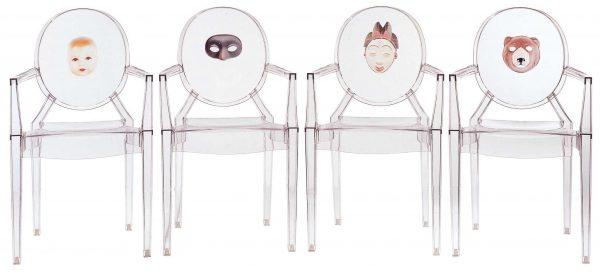 Stapelbarer Sessel Louis Ghost - Kind Transparent Kartell Philippe Starck 2
