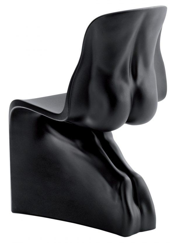 Him Black Casamania Chair Fabio Novembre