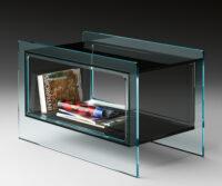Magique Side Table Smoke Gray | Διαφανές FIAM Studio Klass