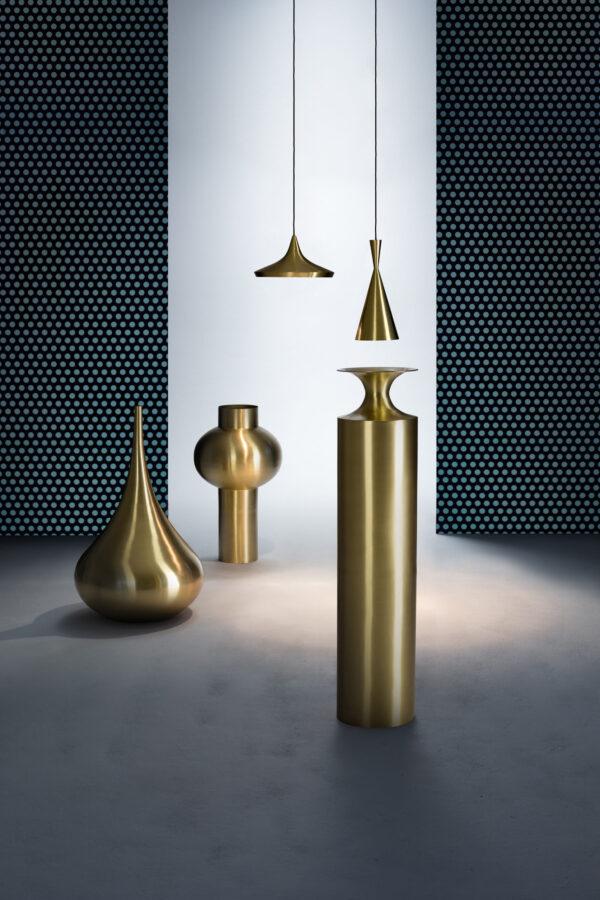 Vess Drop Vase Drop Ø 55 x H 96 cm an kwiv Tom Dixon Tom Dixon