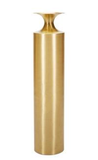 Gefäß Tall Beat Vase Ø 25 x H 109 cm Messing Tom Dixon Tom Dixon