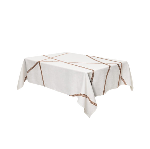Tablecloth Lugo - 180 140 cm x Rust internoitaliano Irene Bacchi | Leonardo Sonnoli