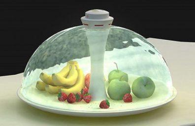 futuristisch-Wasser-Frucht-Schüssel