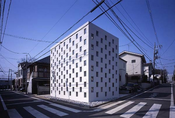 10_Cell_Brick_House_Atelier_Tekuto