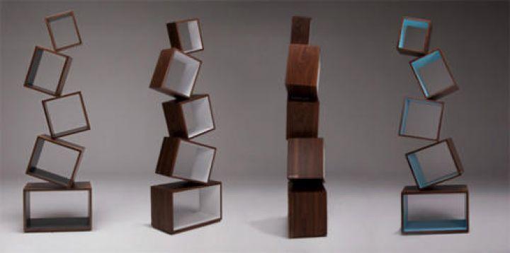 -Equilibrium Moderno-Librero por Alejandro Gómez-Stubbs-Modern-Design