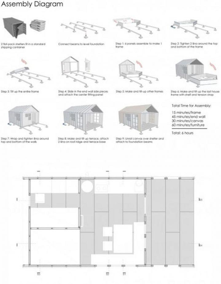 préfabriqués-home-plans diagrammes