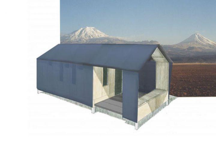 préfabriquée modulaire d'urgence-logement