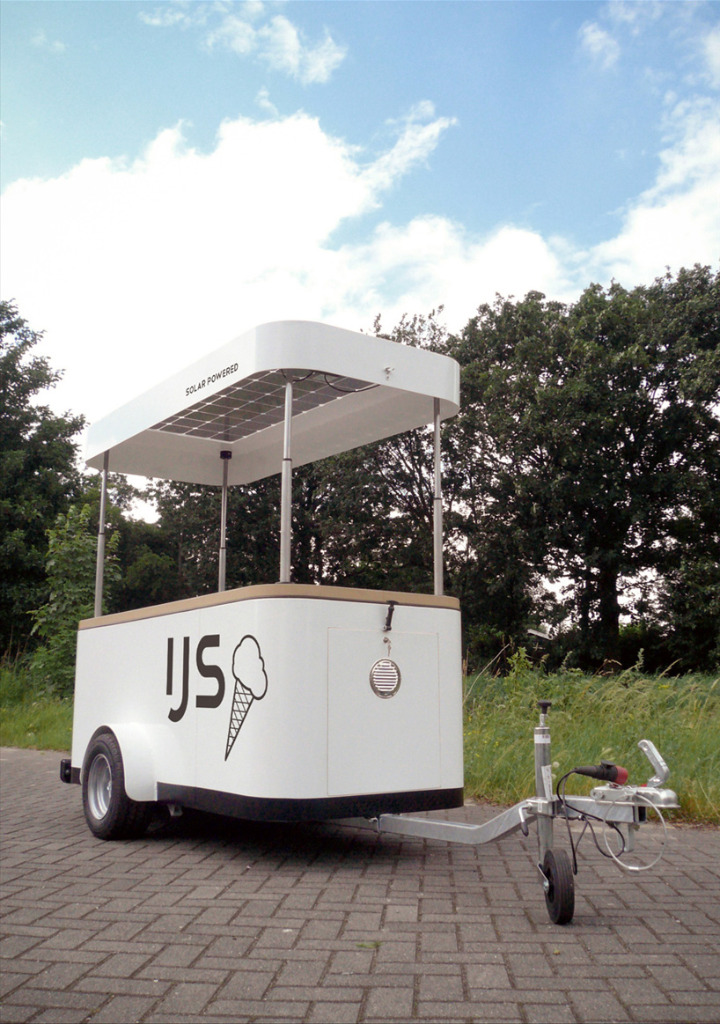 spring time sustainable ice cream cart 018