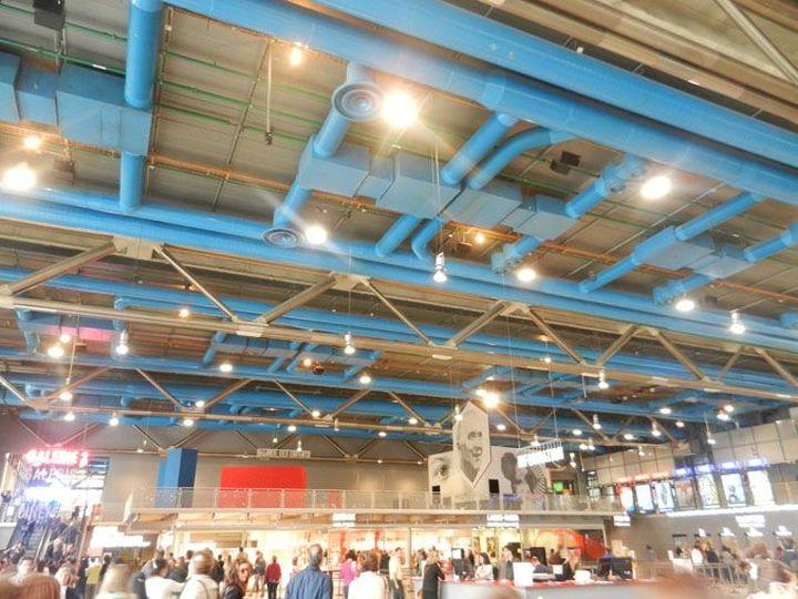 Richard Rogers Centre Pompidou, Renzo Piano-08