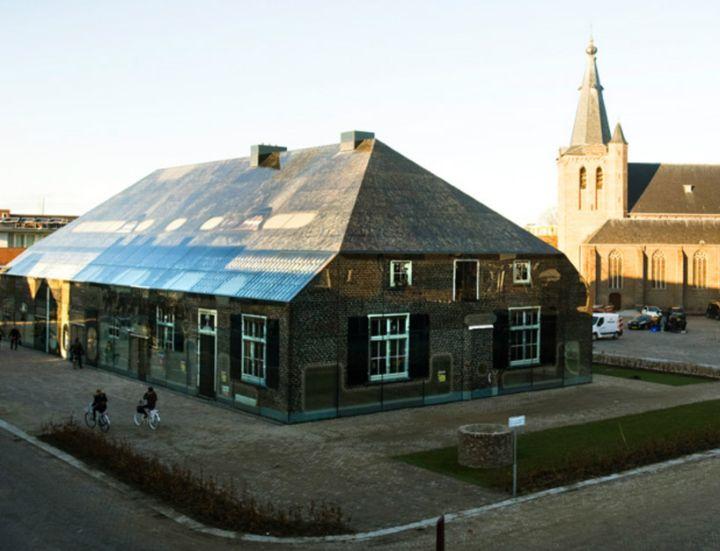 mvrdv Glas Bauernhof in den Niederlanden 04