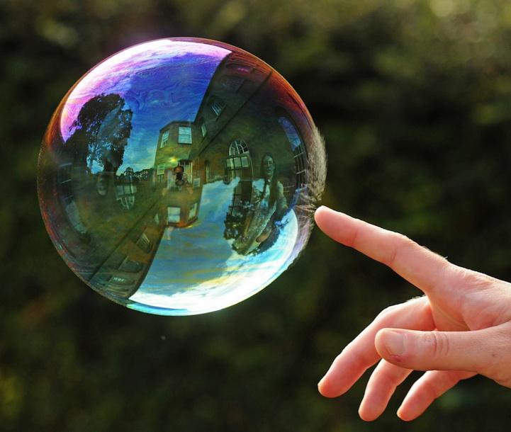 Richard Heeksl magiques Réflexions sur Soap Bubbles-05