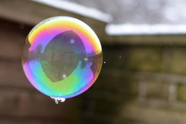 Richard Heeksl magiques Réflexions sur Soap Bubbles-11
