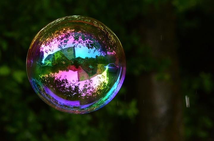 Richard Heeksl magiques Réflexions sur Soap Bubbles-13