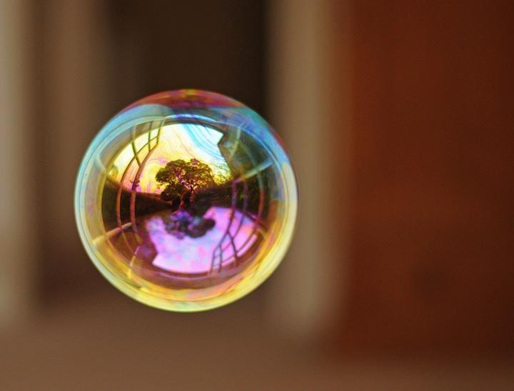 Richard Heeksl magiques Réflexions sur Soap Bubbles-14