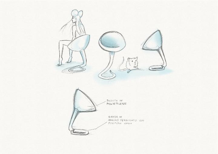 Schwanz roberto-Paoli ausgesät Mercadante Skizze