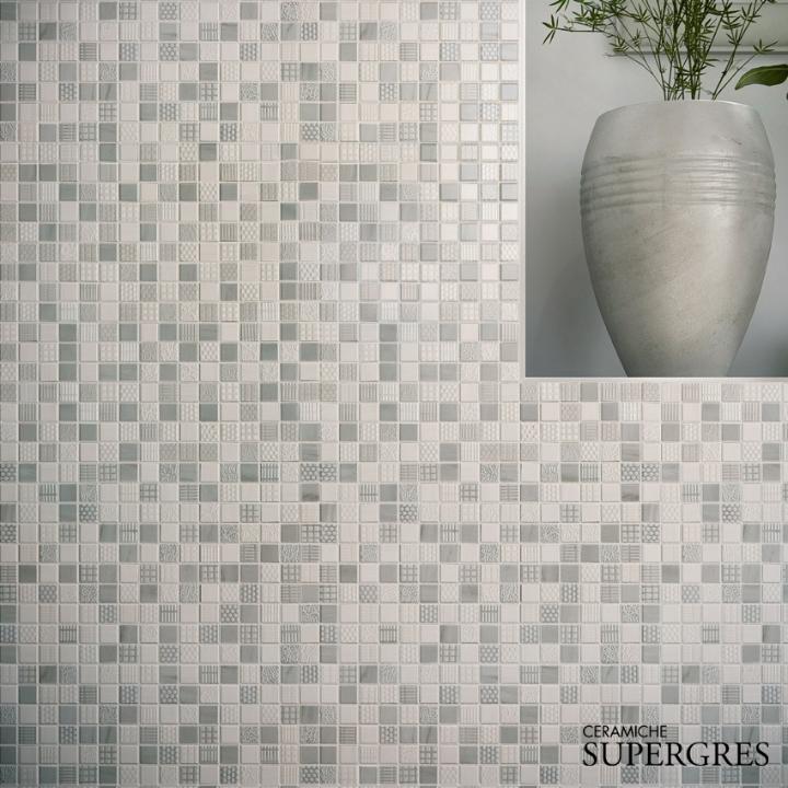 Beschichtungen Bäder re.si.de. Mosaik Detail