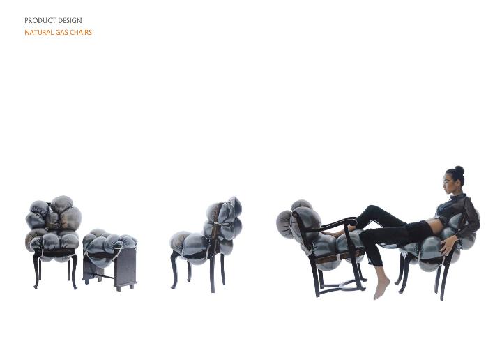 natural gas chair