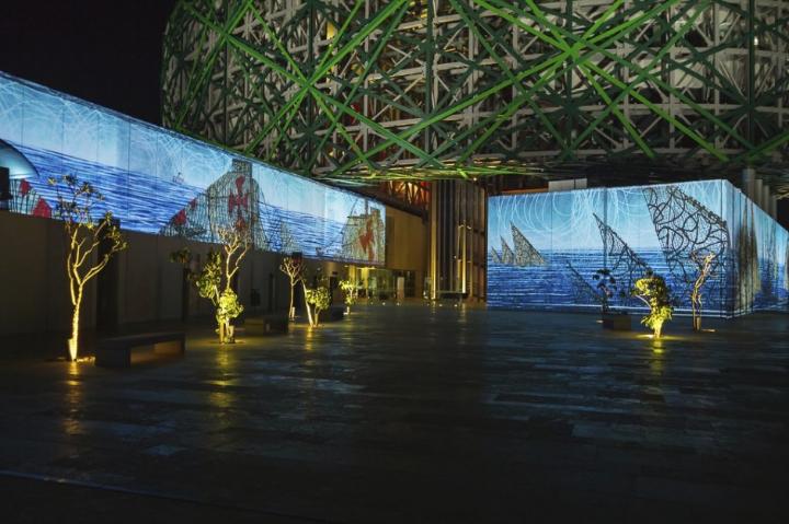 museu instalação multimídia xyz maia 13