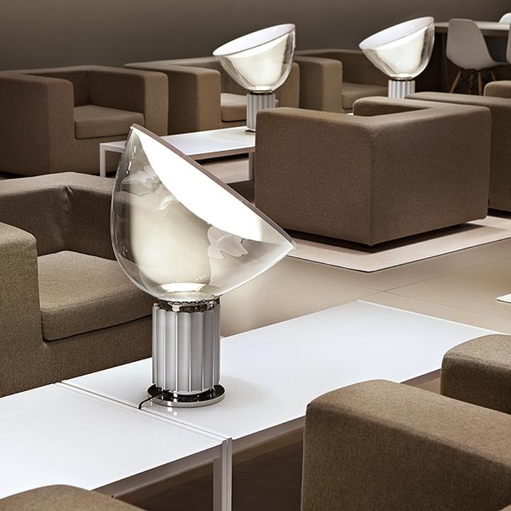 Lampe de table silencieux flos-01