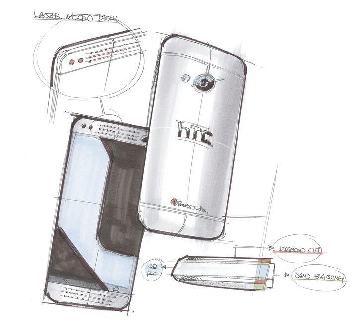 HTC One Sketch 1