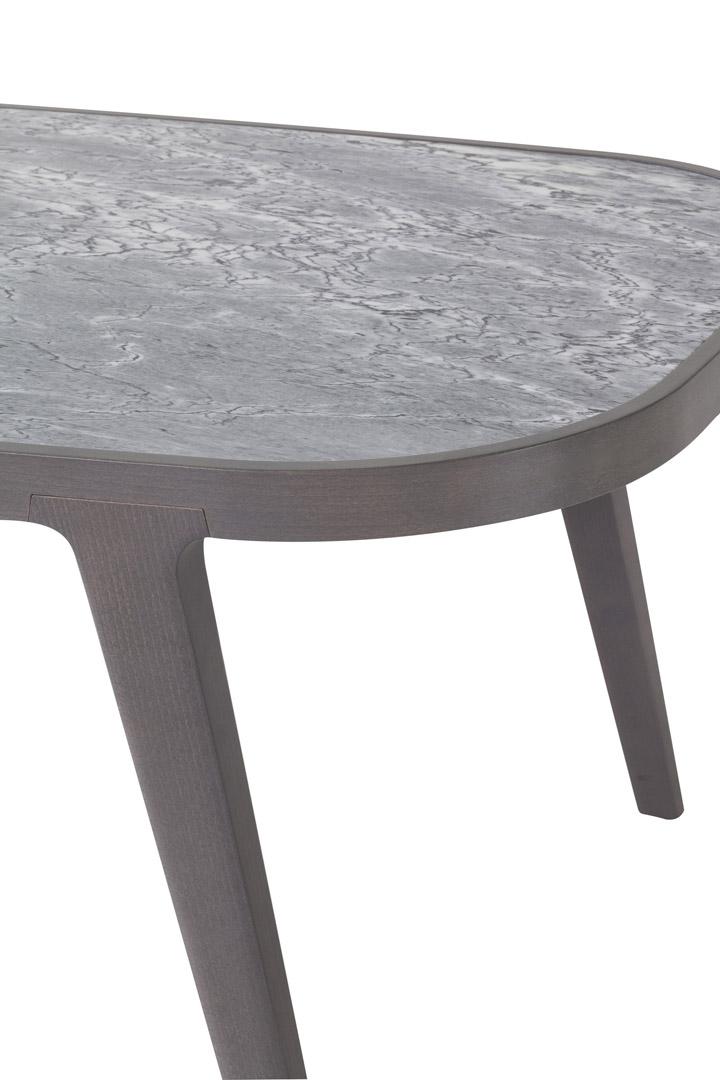 Lotus marble top table dett