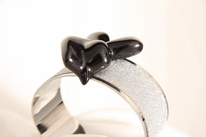 Bracciale n 2 a fascia e marmo  Bracelet band and marble design by Emanuele Rubini  5