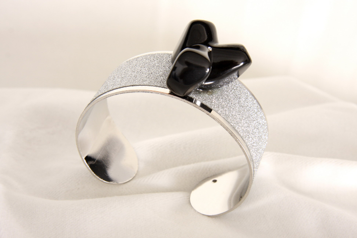 Bracciale n 4 a fascia e marmo  Bracelet band and marble design by Emanuele Rubini  7