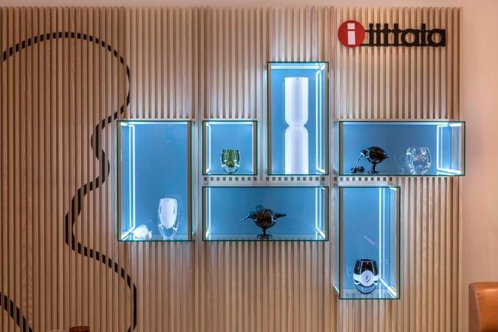iittala showroom Brandwall
