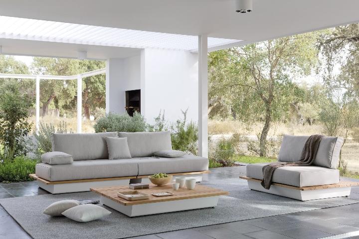 Manutti - AIR divani tavolino amb 4