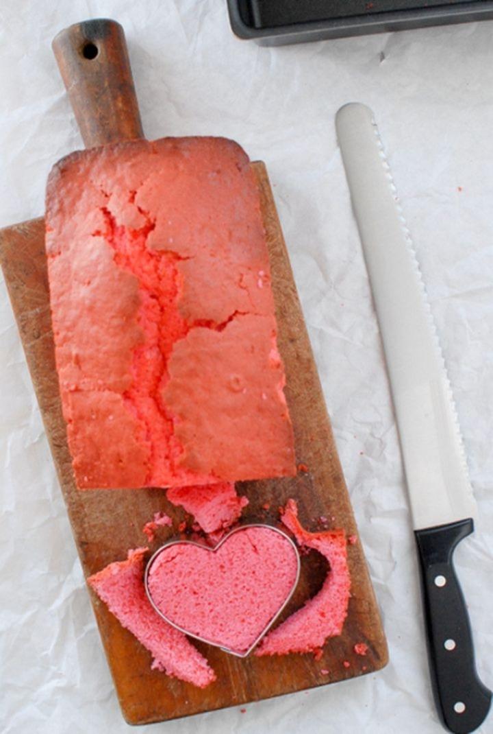 Sweet Valentine une prune avec un cœur à l'intérieur 04