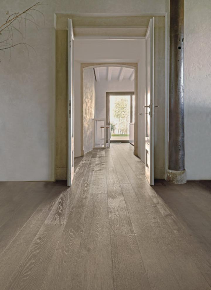 Elite Oak επιλέξτε Ευρώπη βουρτσισμένο Γκρι Sand 1 4 χαμηλή