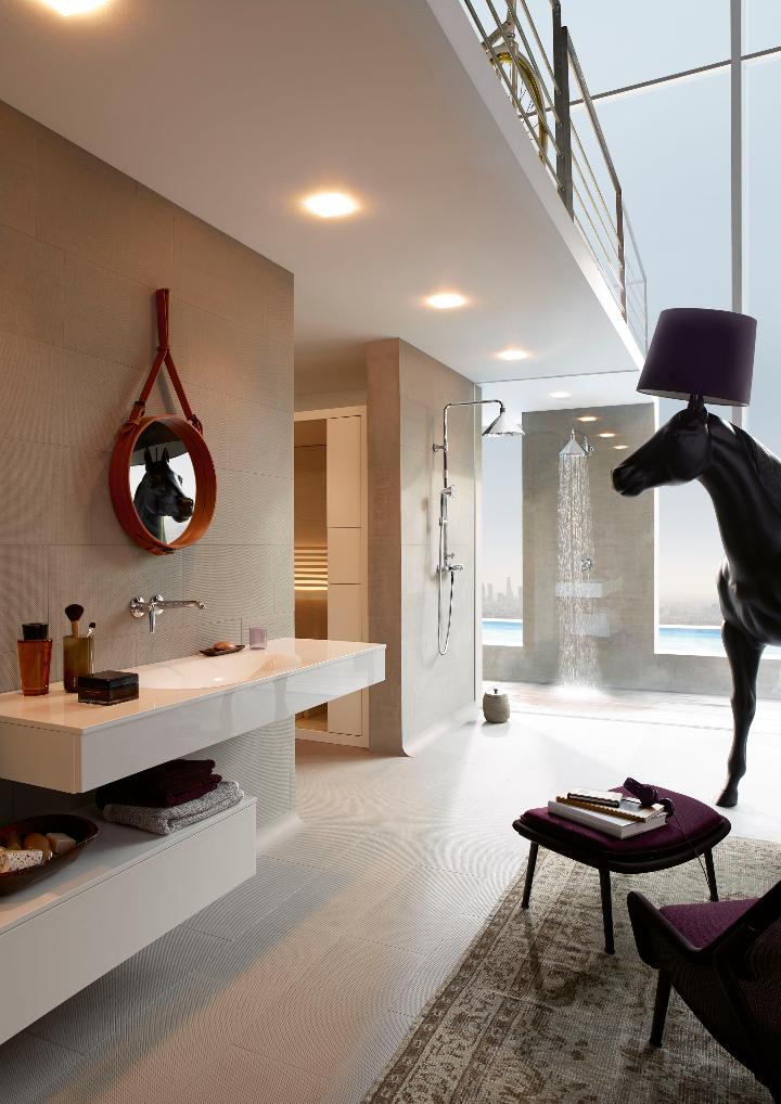 Ambiance Loft Axor ShowerProducts par le Front