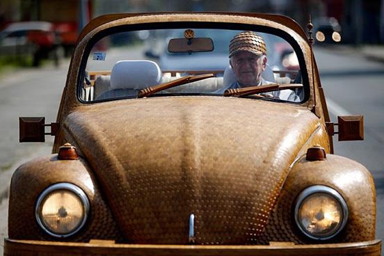Ξύλινο-Volkswagen Beetle--001