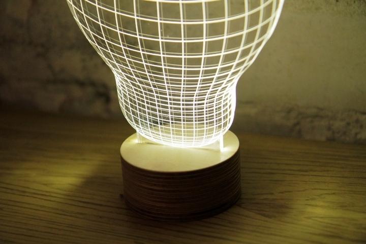 Bulbing 3d table lamp Design Magazine Social-13